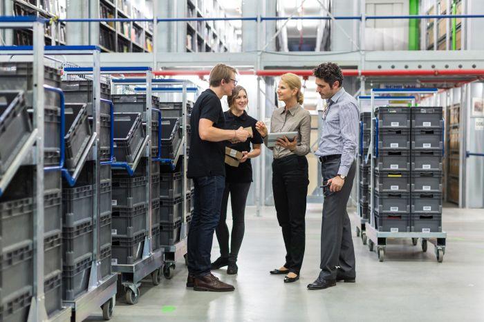 Gemba: Materialflussplanung & Logistikoptimierung